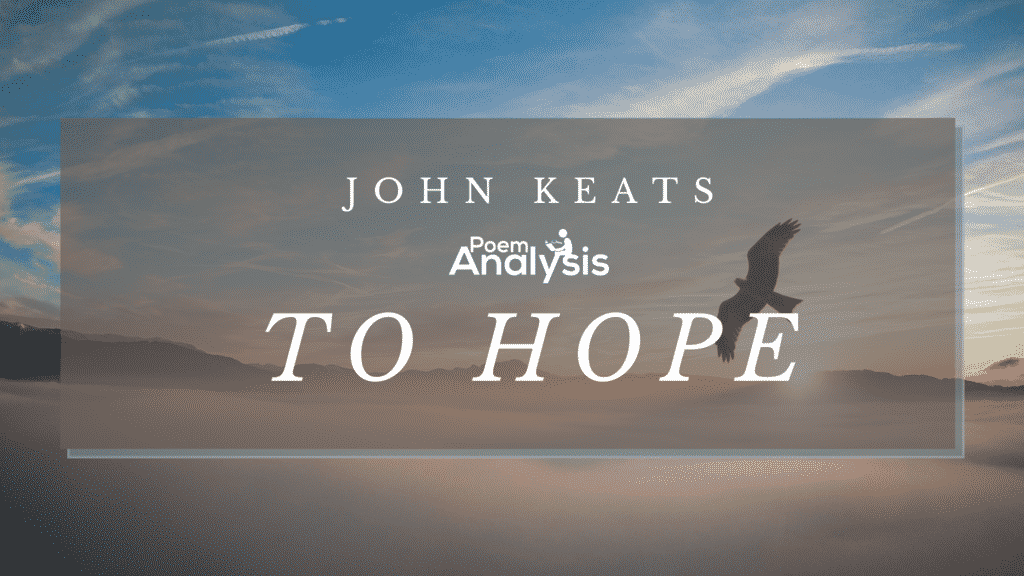 To Hope by John Keats