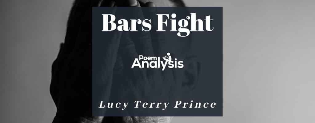 Bars Fight By Lucy Terry Prince