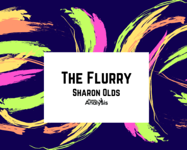 The Flurry by Sharon Olds