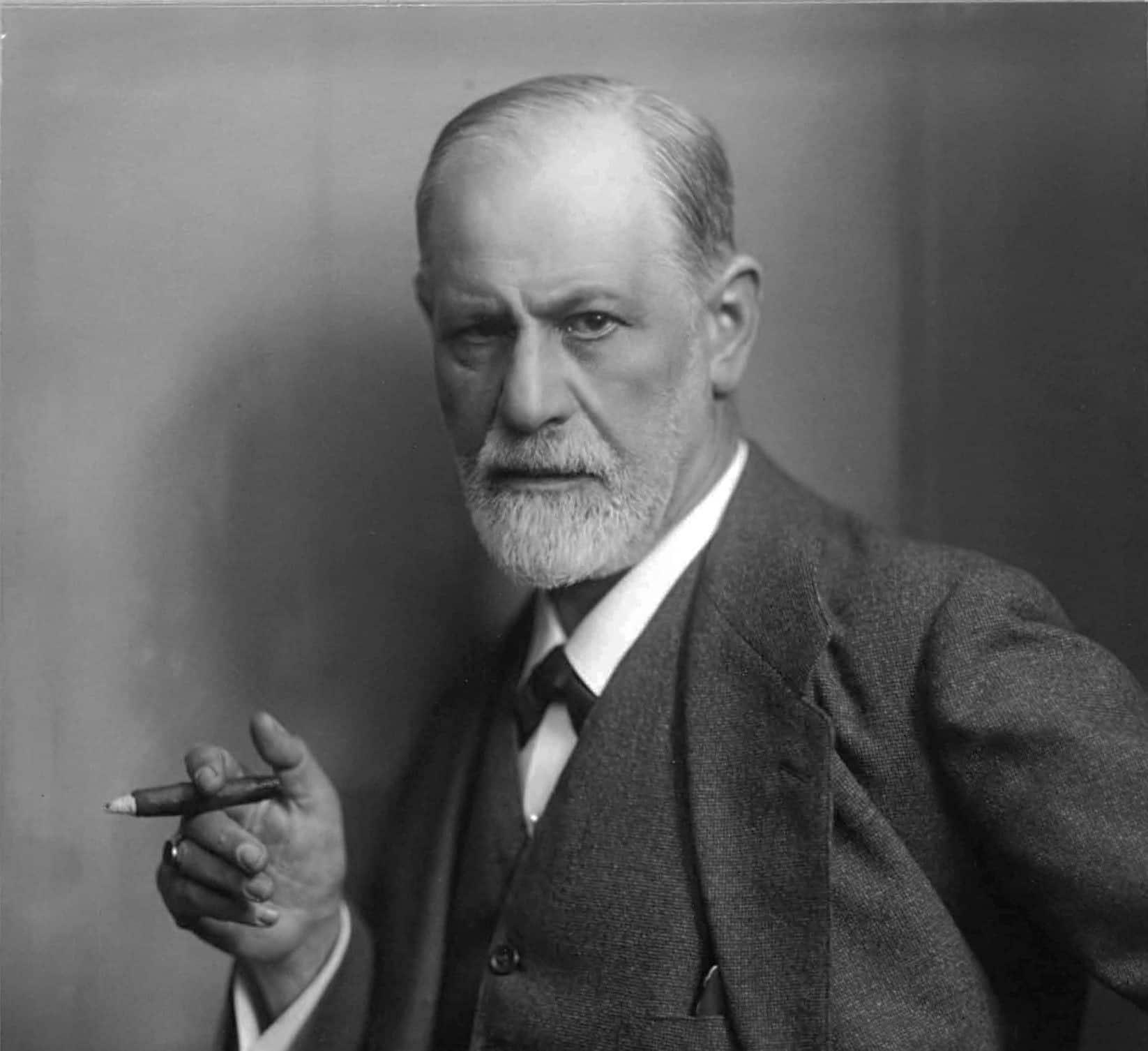 Sigmund Freud, Austrian founder of psychoanalysis