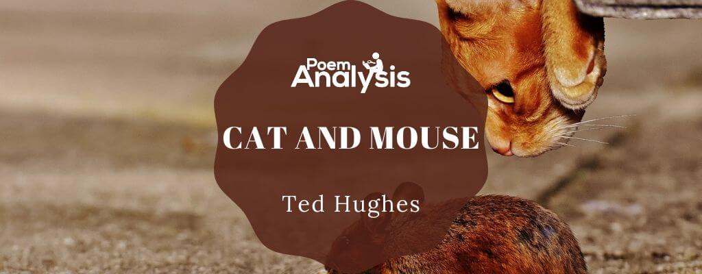 Cat and Mouse by Ted Hughes