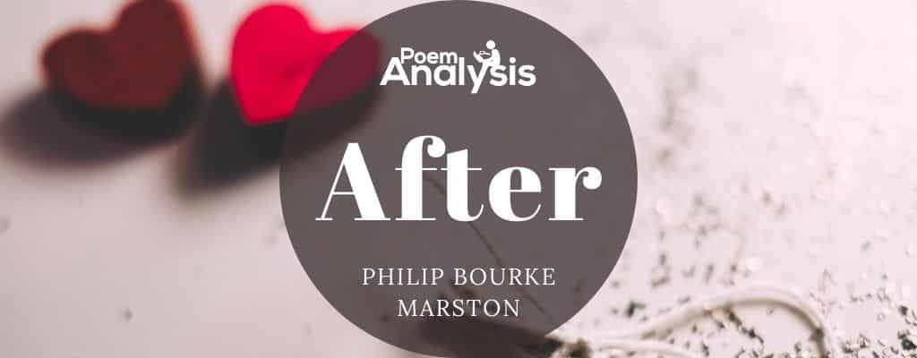 After by Philip Bourke Marston