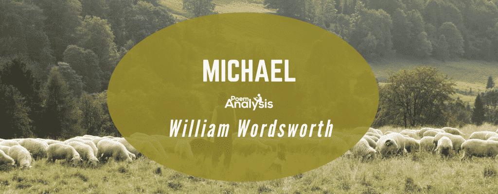 Michael by William Wordsworth