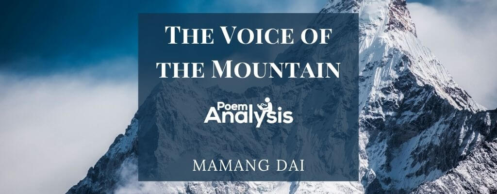 The Voice of the Mountain by Mamang Dai