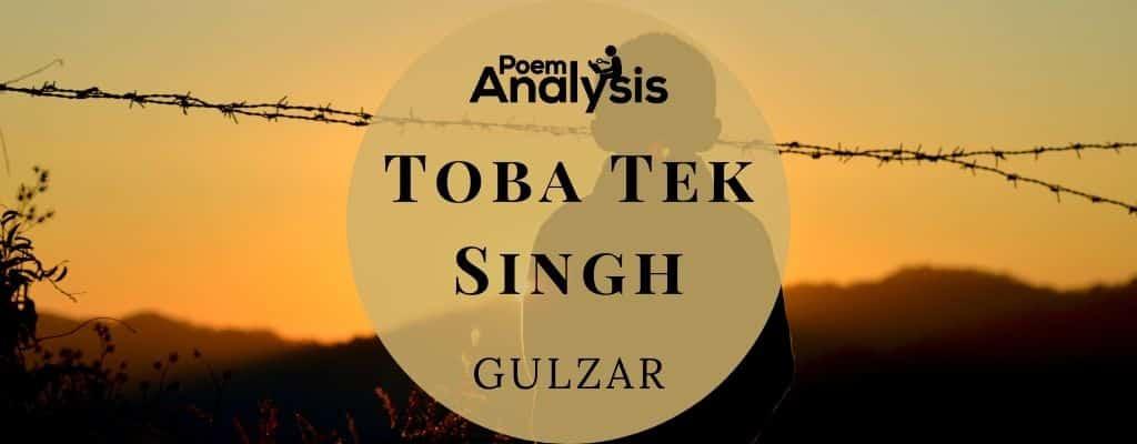 Toba Tek Singh by Gulzar