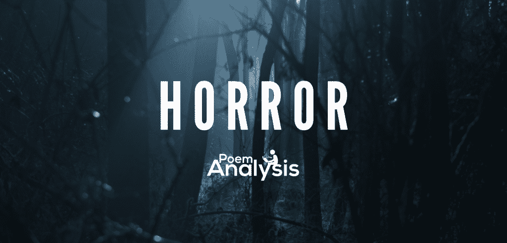 Horror genre definition