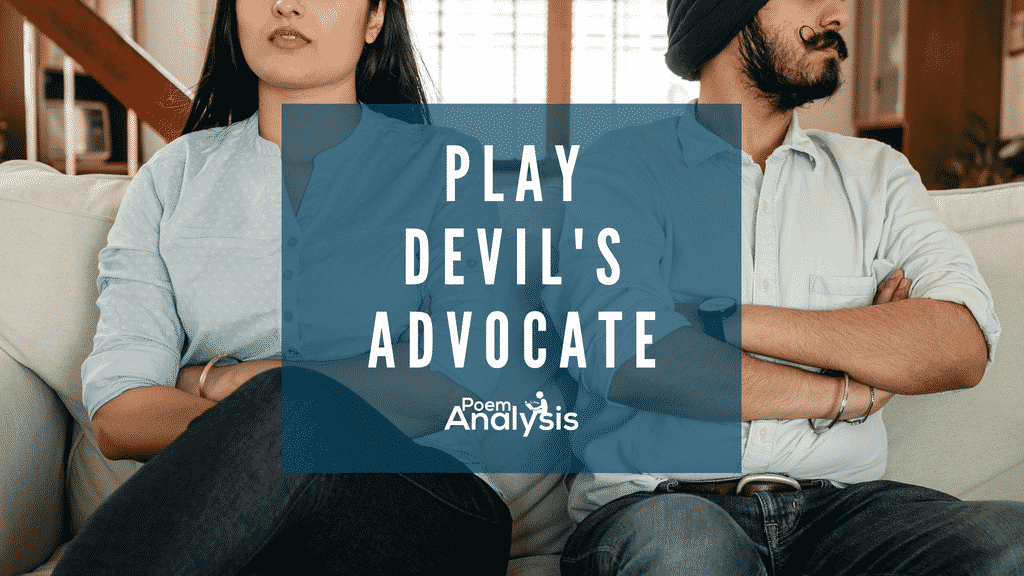 Play Devil's Advocate definition