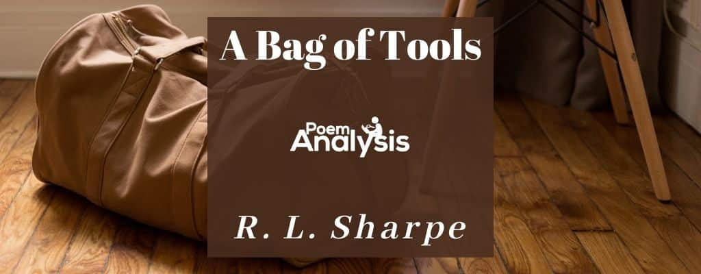 A Bag of Tools by R. L. Sharpe