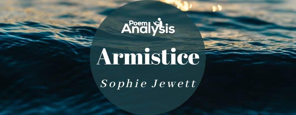 Armistice by Sophie Jewett