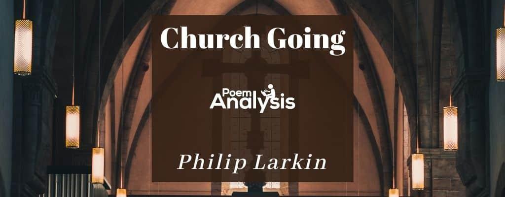 Church Going by Philip Larkin