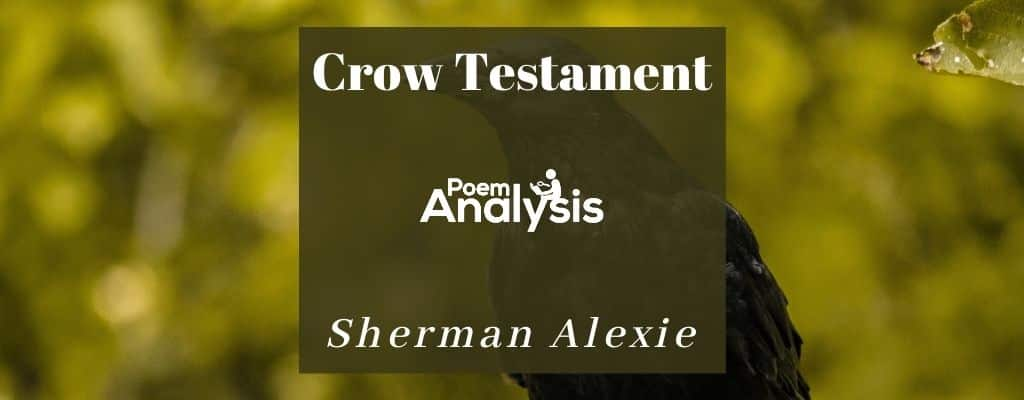 Crow Testament by Sherman Alexie
