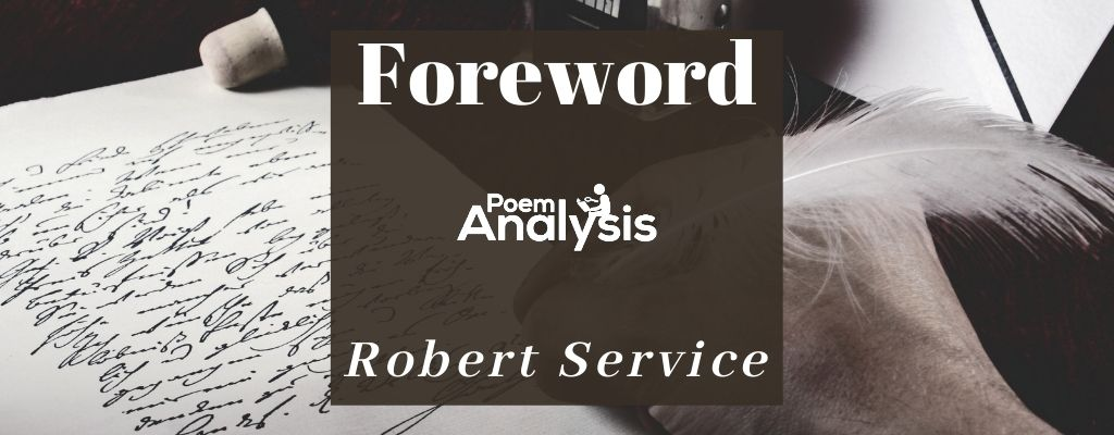 Foreword by Robert Service