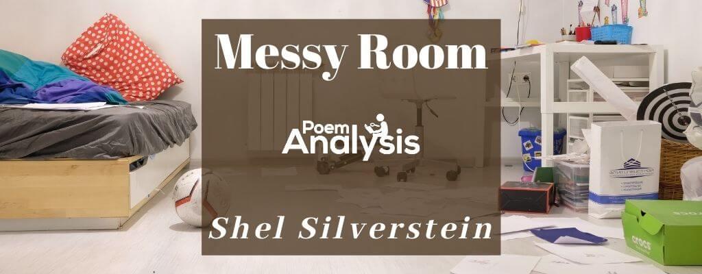 Messy Room by Shel Silverstein