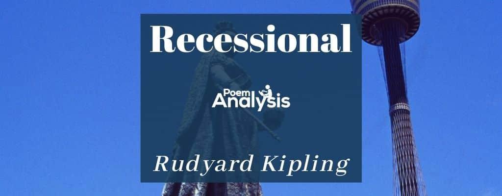 Recessional by Rudyard Kipling