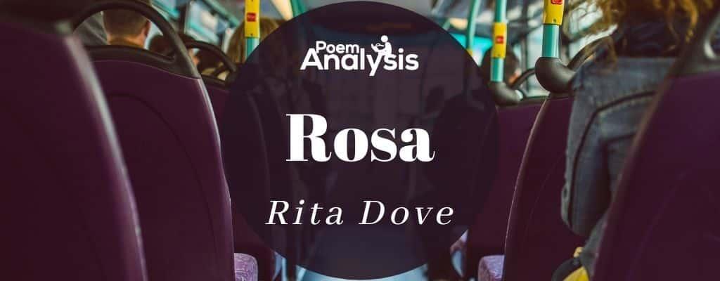 Rosa by Rita Dove