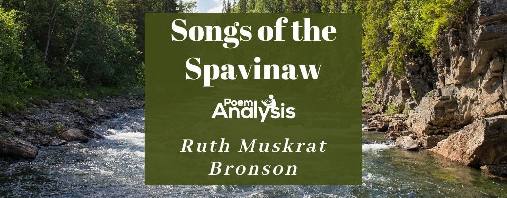 Songs of the Spavinaw by Ruth Muskrat Bronson