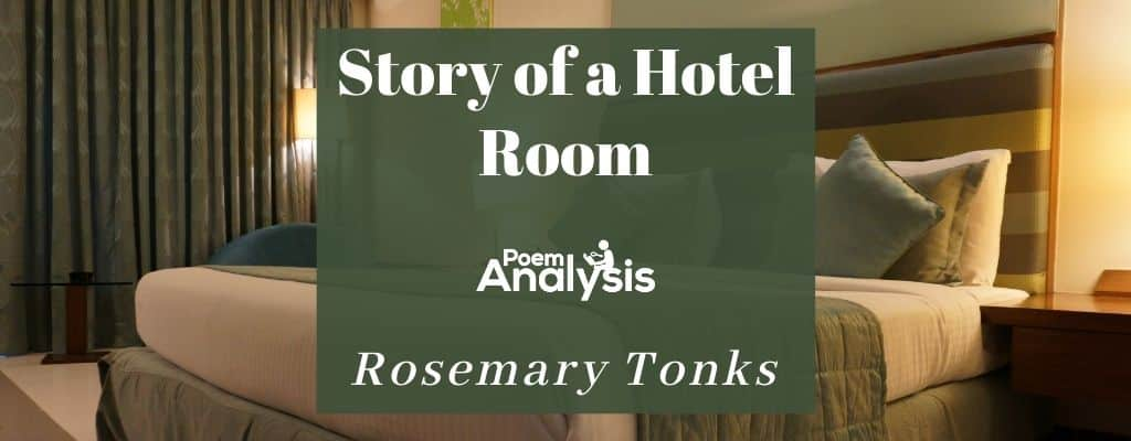 Story of a Hotel Room by Rosemary Tonks