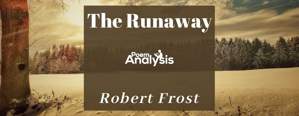 The Runaway by Robert Frost