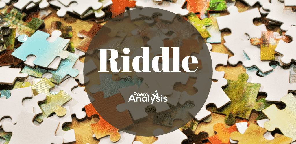 Riddle definition and examples