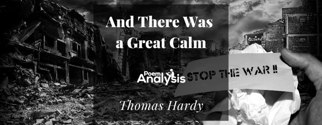 And There Was a Great Calm by Thomas Hardy