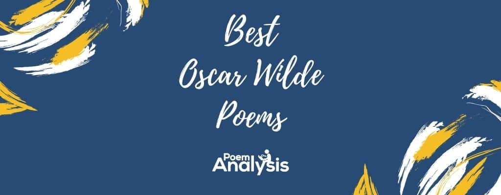 Best Oscar Wilde Poems