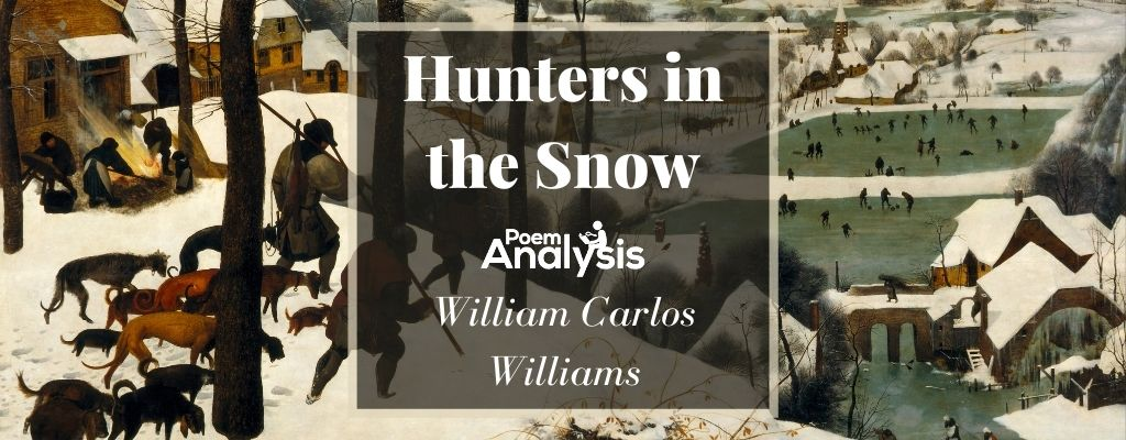 Hunters in the Snow by William Carlos Williams