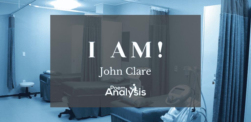 I Am! by John Clare