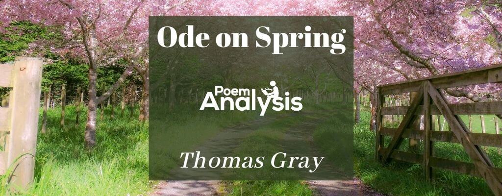 Ode on Spring by Thomas Gray