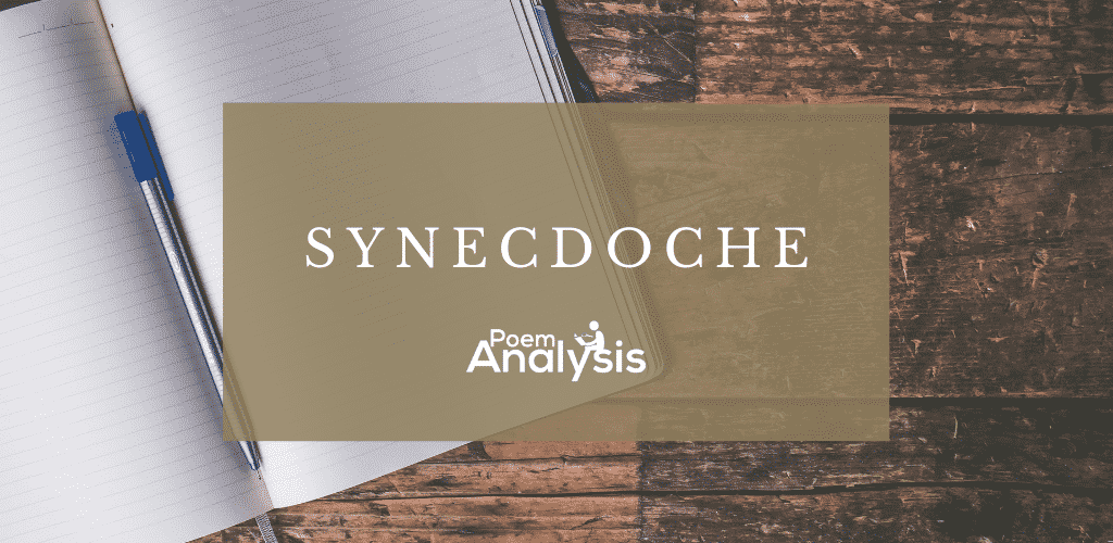 Synecdoche definition and examples