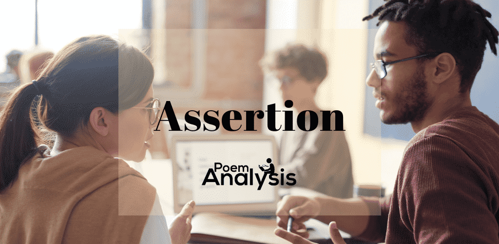 Assertion definition and examples