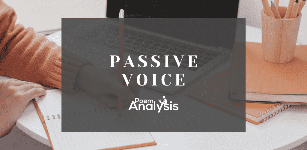 Passive Voice definition and examples