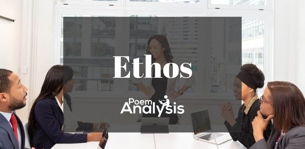 Ethos definition and examples