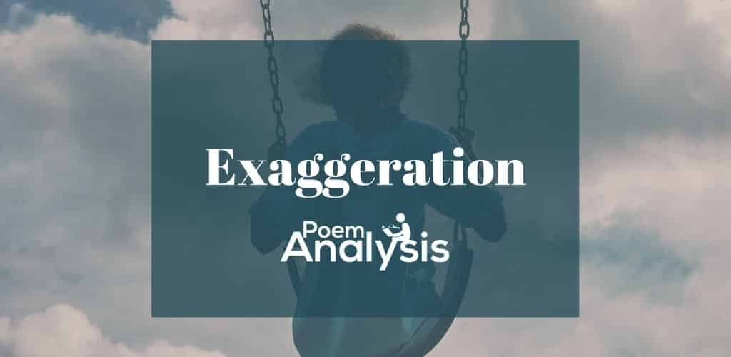 Exaggeration definition and examples