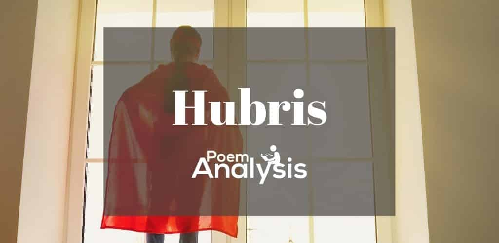 Hubris definition and examples