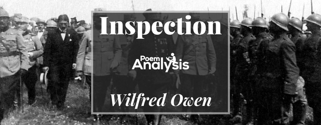 Inspection by Wilfred Owen