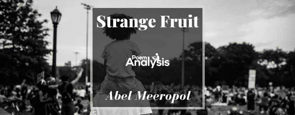 Strange Fruit by Abel Meeropol