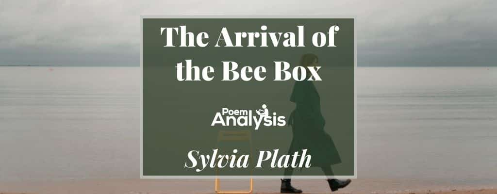 The Arrival of the Bee Box by Sylvia Plath