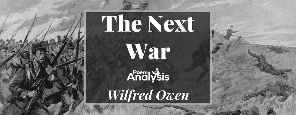 The Next War by Wilfred Owen