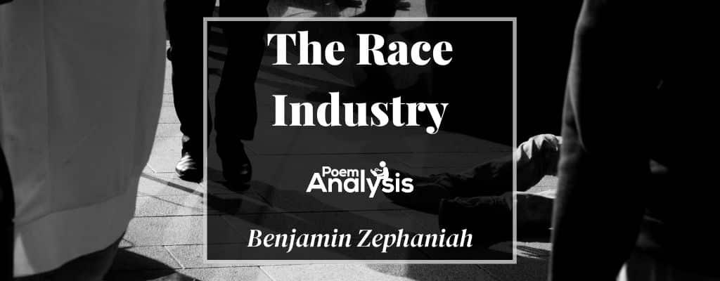 The Race Industry by Benjamin Zephaniah