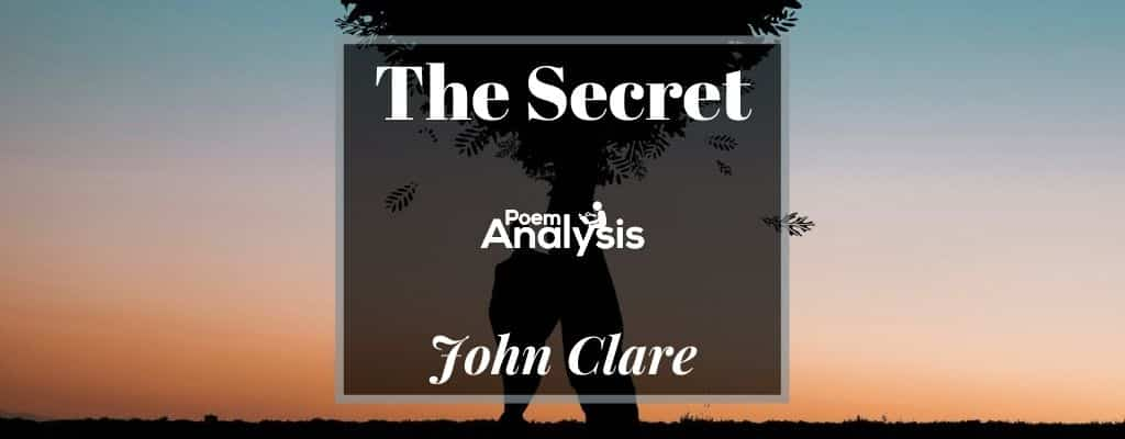 The Secret by John Clare