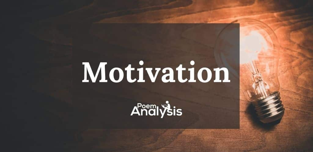 Character Motivation definition and examples