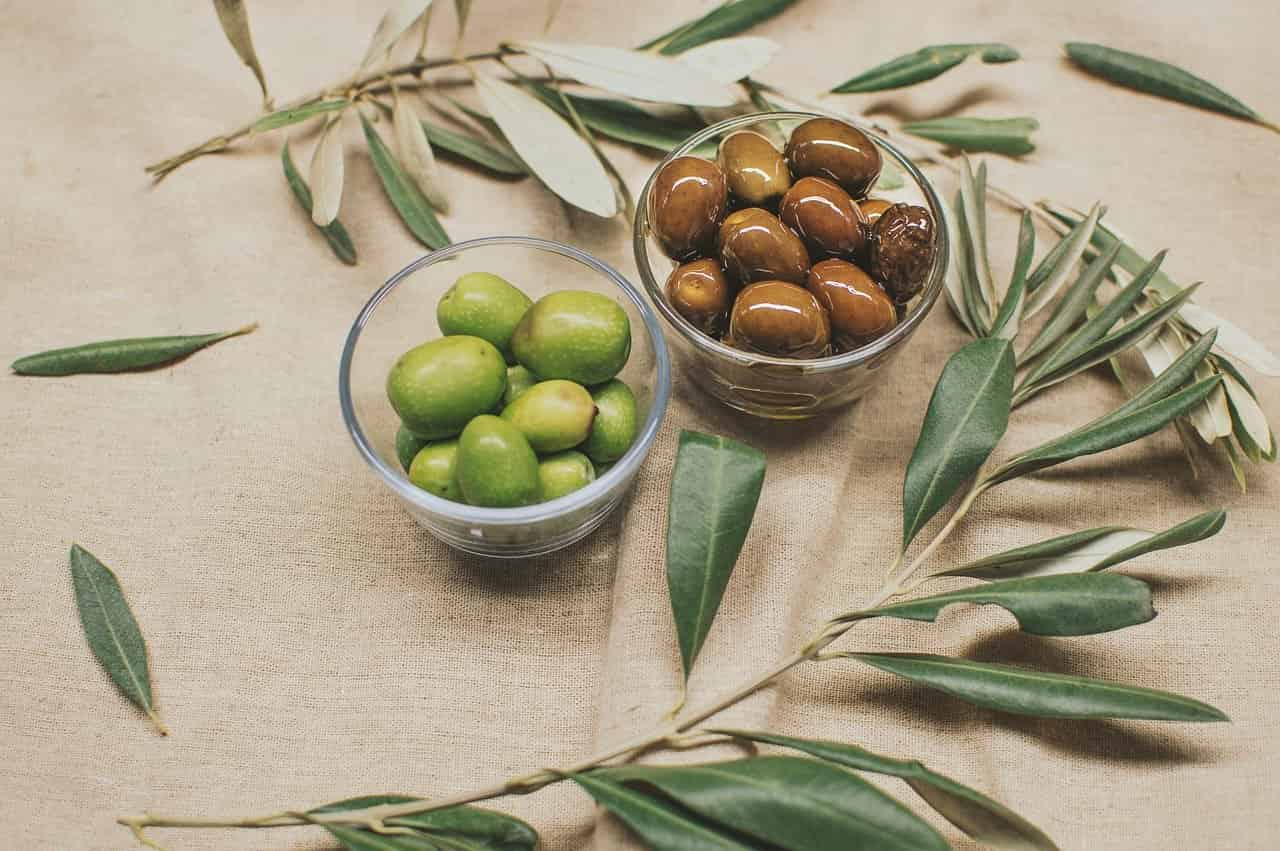 Olives by A.E. Stallings Visual Representation