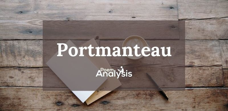 Portmanteau word definition and examples