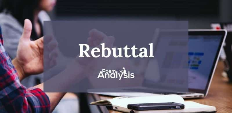 Rebuttal definition and examples