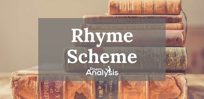 Rhyme Scheme definition and examples