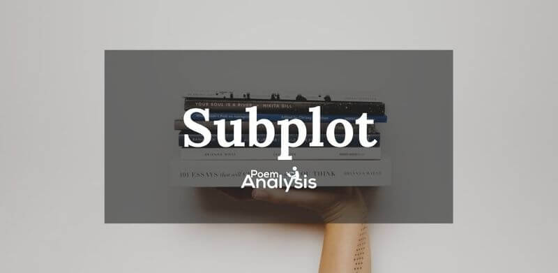 Subplot in literation definition and examples