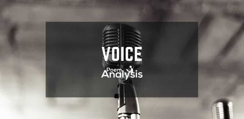 Voice definition and examples