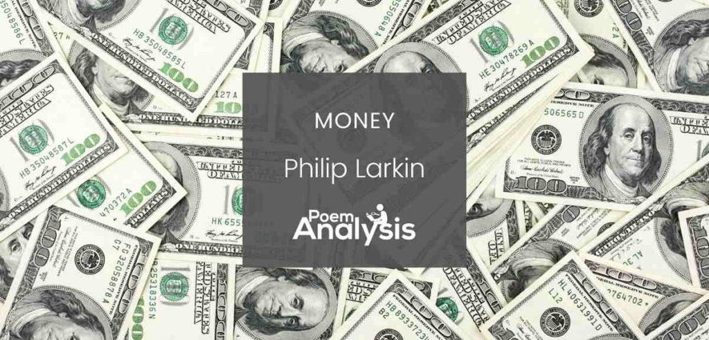 Money by Philip Larkin
