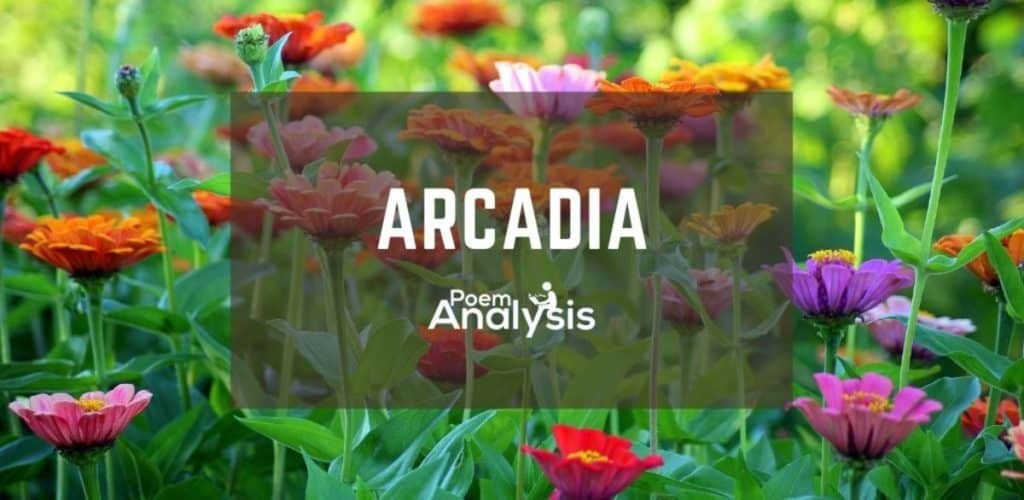 Arcadia definition and examples