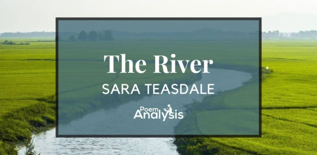 The River by Sara Teasdale